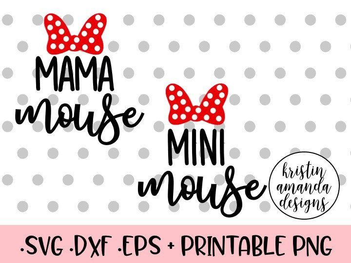 Mama Mouse Mini Mouse Disney Bound Travel Summer Spring Break Plane Castle Princess Mickey Mouse Minnie Mouse Shirt Onesie SVG Cut File • Cricut • Silhouette Vector • Calligraphy • Download File • Cricut • Silhouette Cricut projects - cricut ideas - cricut explore - silhouette cameo By Kristin Amanda Designs