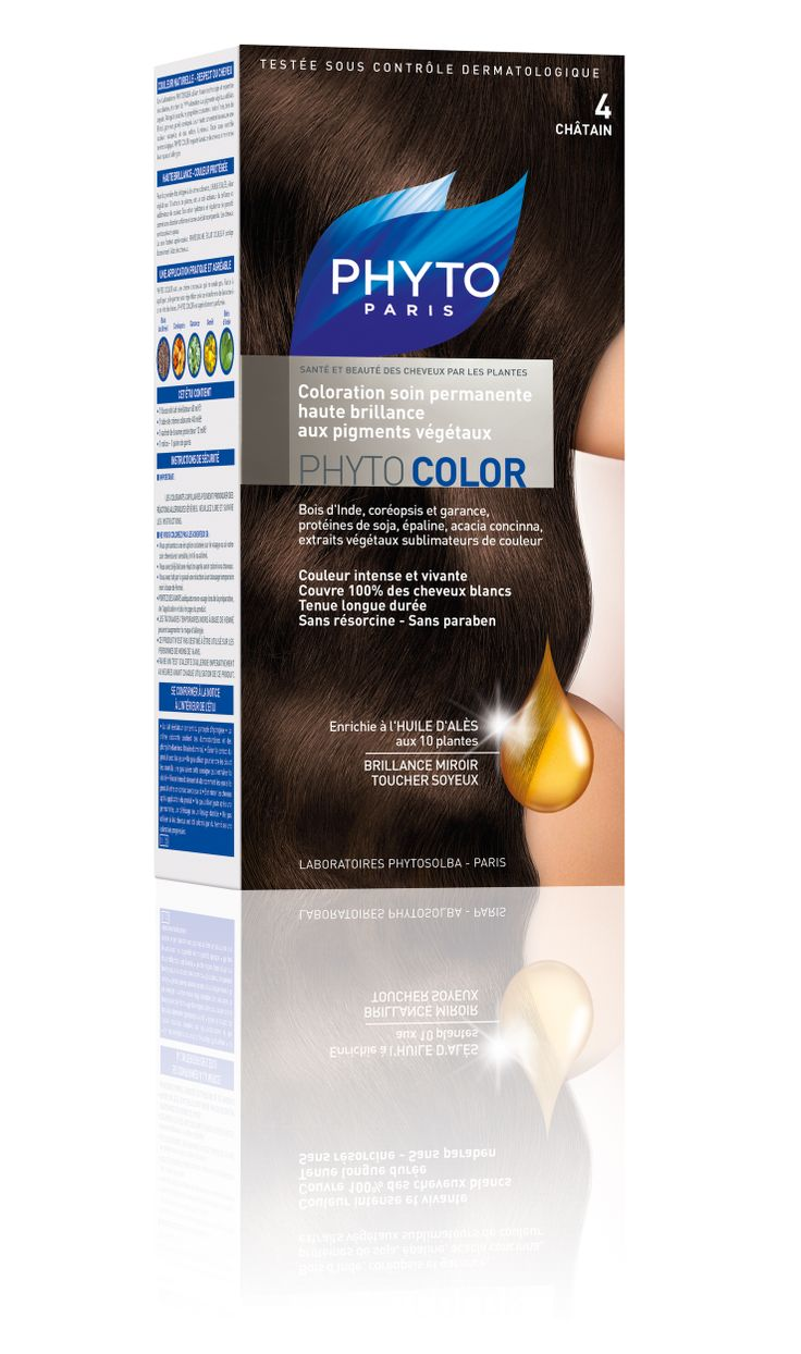 phytocolor coloration permanente tous cheveux nuance 4 chtain phyto phytoparis - Keranove Coloration Sans Ammoniaque