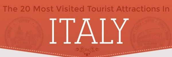 With the vast number of tourist attractions in Italy, it's interesting to see which ones are actually visited the most! Check out Select Italy's new infographic