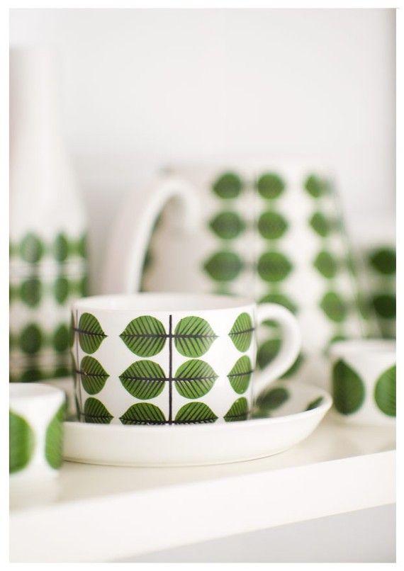 retro!Kitchens Interiors, Kitchens Design, Bersa Collection, Stiglindberg, Scandinavian Design, Teas Cups, Stig Lindberg, Design Kitchens, Modern Kitchens