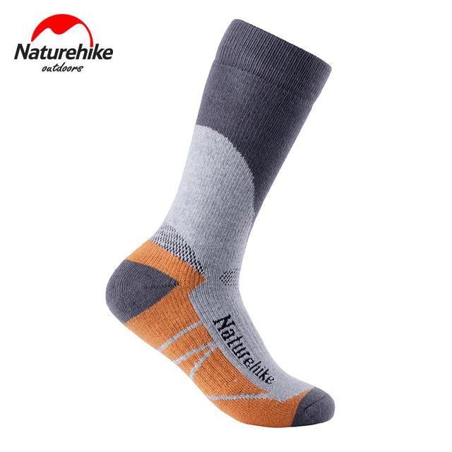 NatureHike Men's Socks Outdoor Sock Quick-Drying Men Women Sport Socks Winter Thermal Socks Snow Peak Hiking Cycling