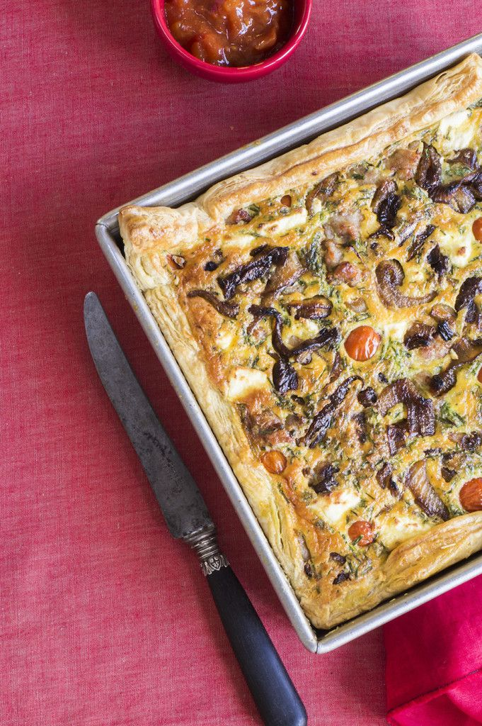 Glorious sausage quiche