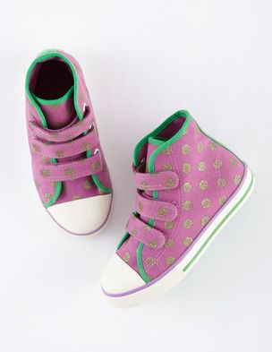 Spotty High Tops 39130 Sneakers & Plimsolls at Boden