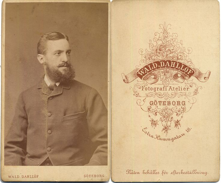 Beards of the 19th Century: CdV 40