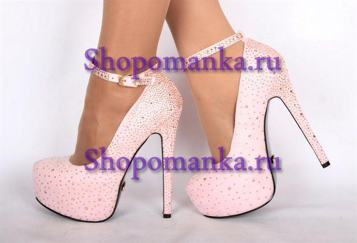 Розовые свадебные туфли спб