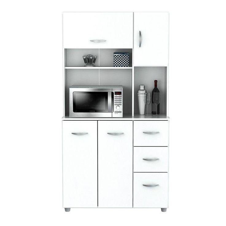 Die besten 25+ Mikrowellen schublade Ideen auf Pinterest - miniküche mit kühlschrank