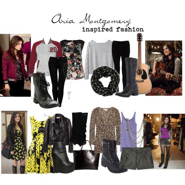 Aria Montgomery Inspired Fashion
