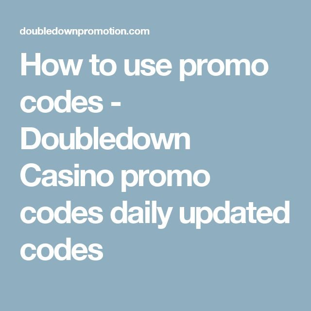 How to use promo codes - Doubledown Casino promo codes daily updated codes