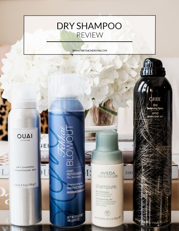 The Ultimate Dry Shampoo Guide | The Teacher Diva: a Dallas Fashion Blog featuring Beauty & Lifestyle