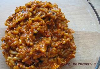 bare barnemat: Spaghetti bolognese pour la bebe