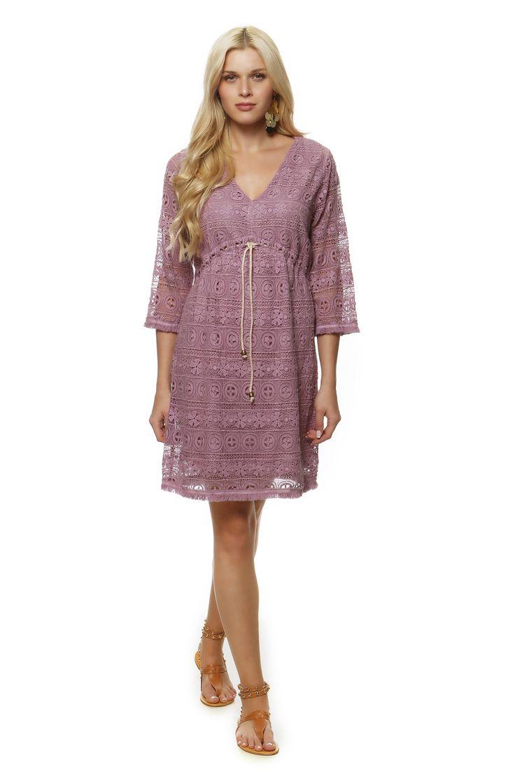 Cotton Lace Dress 1373 http://eshop.hariscotton.gr/