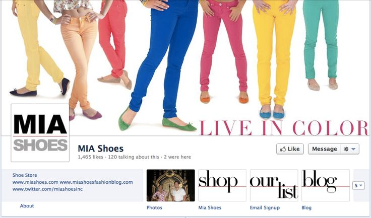Social Sales Cases: MIA Shoes Facebook Timeline Image: Mia Shoes, Social Sales, Social Media, Beats Stars, Shoes Seamless, Facebook Timeline, Timeline Image, Shoes Facebook, Sales Cases