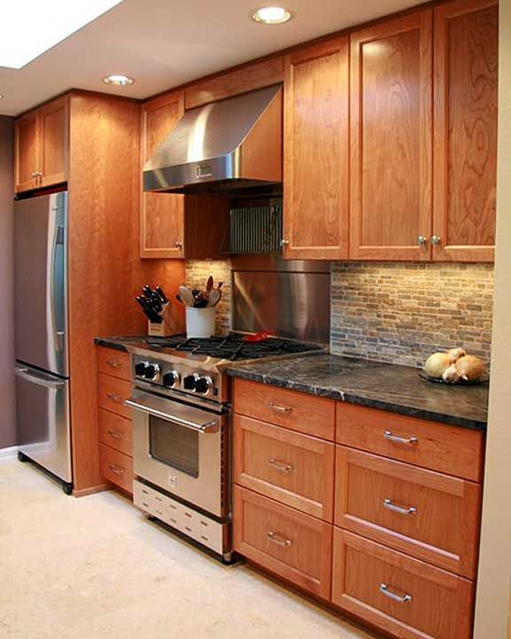 Kitchen Ideas Cherry Cabinets: 18 Best Kitchen Ideas Images On Pinterest
