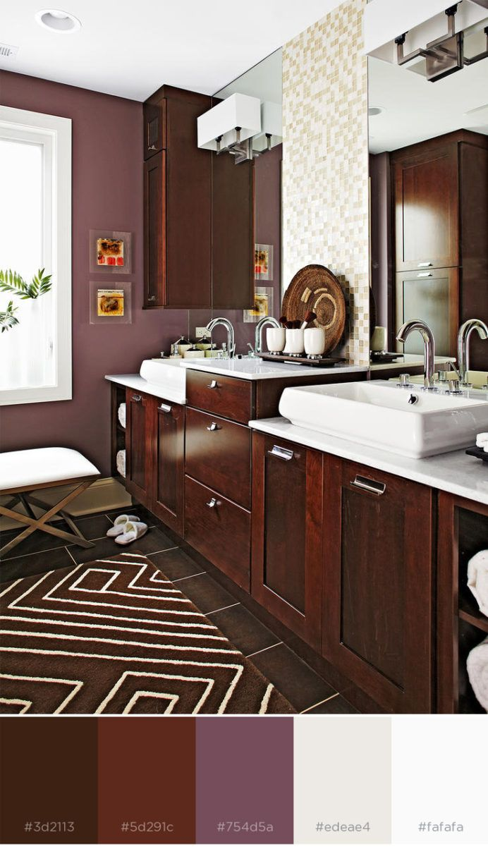 Color Combinations With Purple in 2020   Bedroom color ...