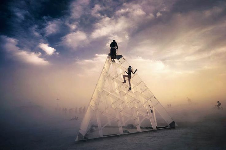 Welcome home – Le festival Burning Man vu par le photographe Victor Habchy (image)