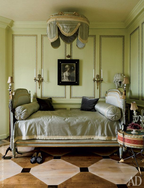 Antique French Wall Bed ~ Antique Bedroom Furniture