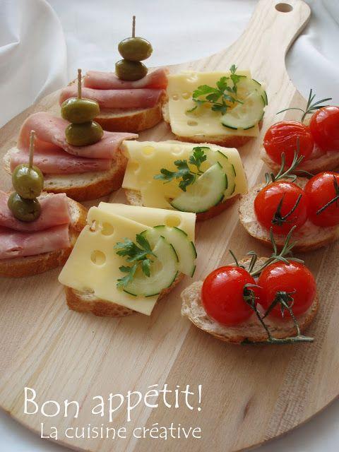 La cuisine creative: Mali zalogaji :)