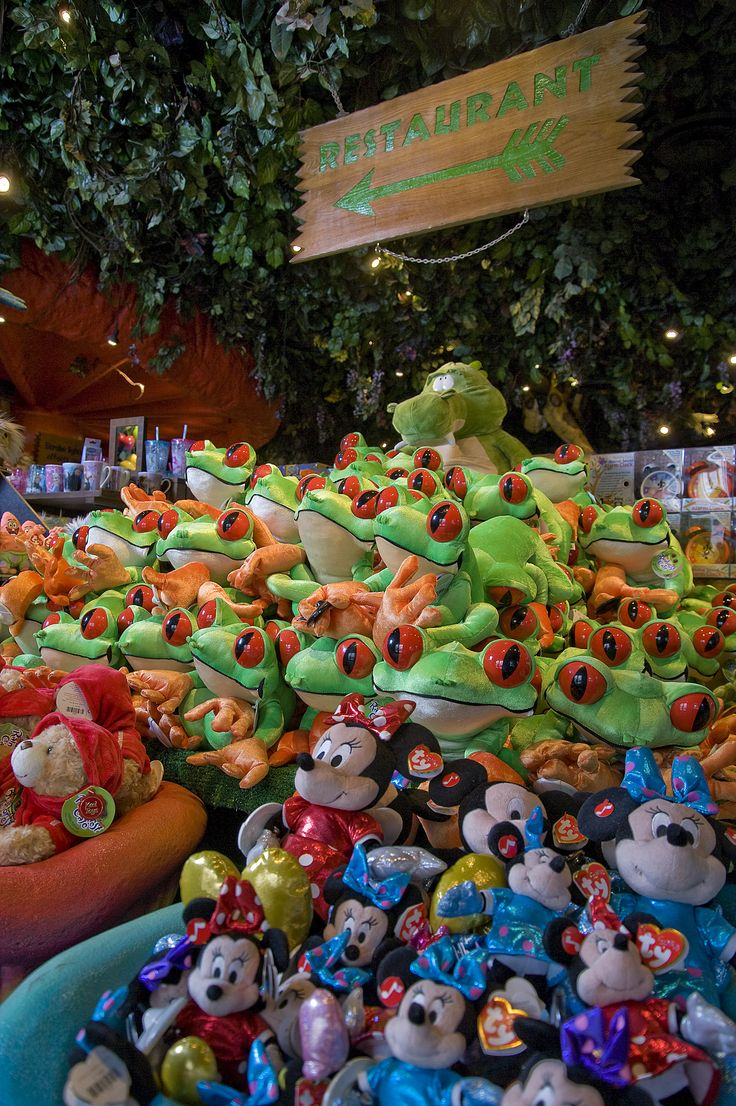 We have a variety of animal character soft toys for all ages. We also stock a wide range of plush toys from Disney & Ty as well as our Rainforest Cafe ones!