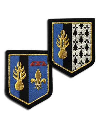 Écusson brodé GENDARMERIE LÉGION - Gendarmerie Nationale/Médailles / Écussons - securicount