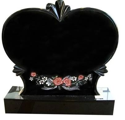 Heart Shape Headstone Design For Tombstone Tombstone