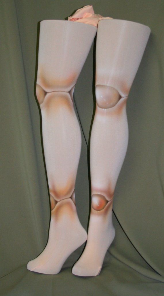 ball joint tights. peaches and cream lolita ball joint doll micro fiber tights bjd by beadborg on etsy