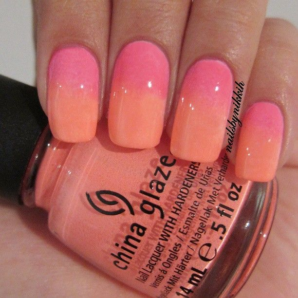 Ombre Nails - @ Nailsbynikkih