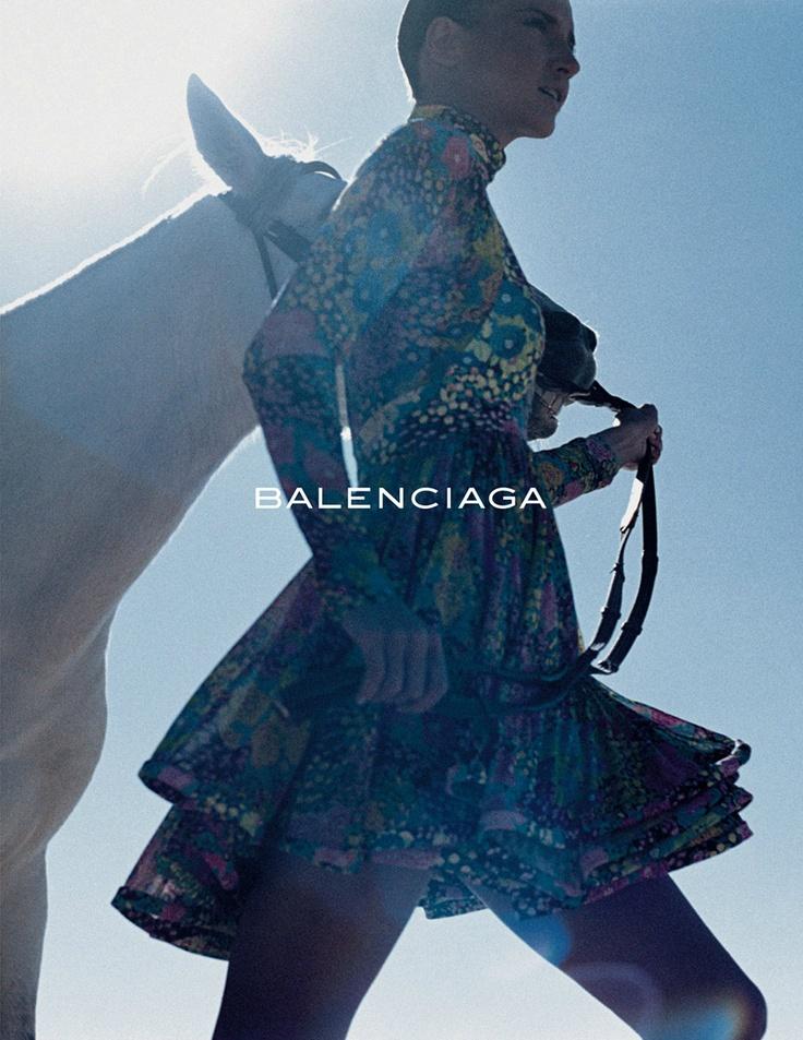 Diana Dondoe by David Sims Balenciaga S/S 2004 Ad Campaign