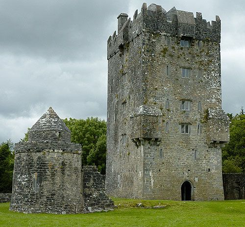 Aughnanure Castle, County Galway, Ireland