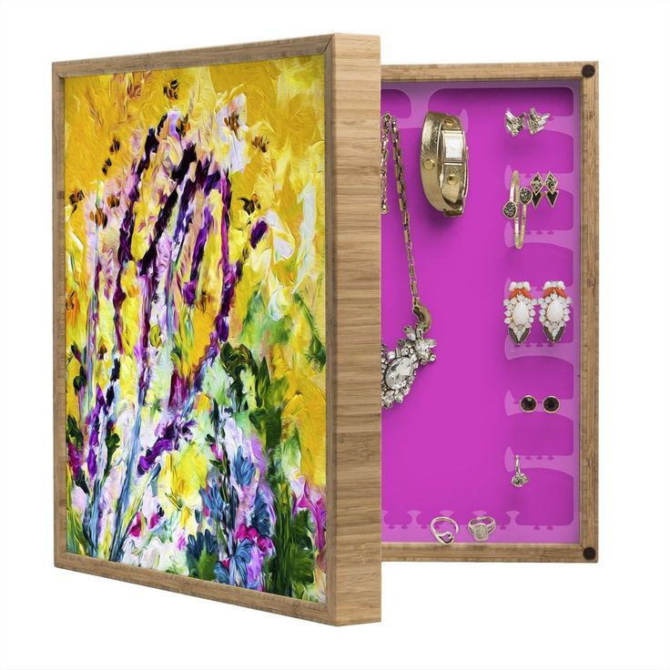 BlingBox Petite Ginette Fine Art #Lavender and #Bees #Provence  | @DENY #Designs #Home #Accessories