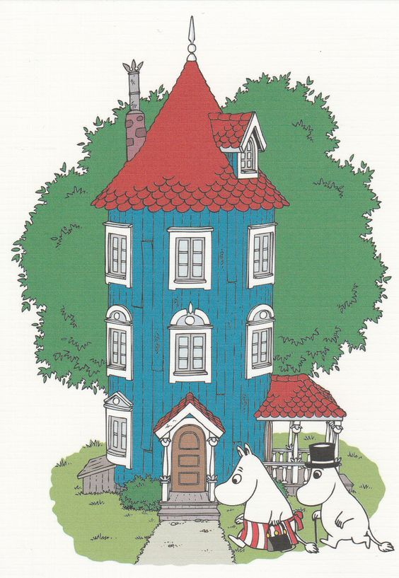 Moomin - The house