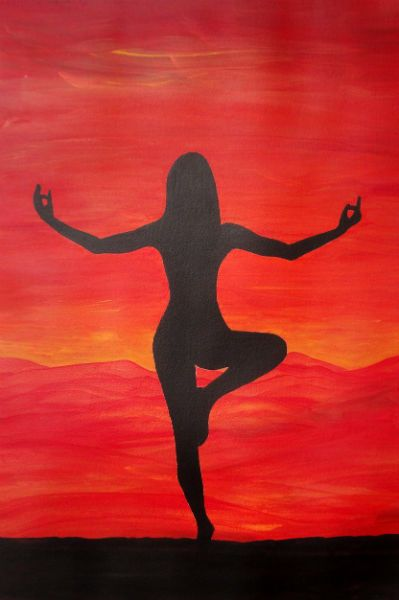 """Balance"" - Painting by Lorraine Skala - Please visit my Etsy Shop to purchase notecards or prints"