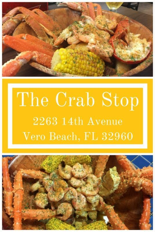 The Crab Stop is one of the best restaurant in Vero Beach, Florida. Their fresh seafood bowls will leave you licking your lips and fingers both.