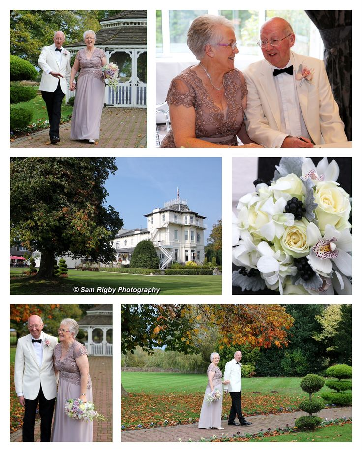 First Wedding Anniversary - congratulations to this lovely couple who married at Thornton Hall