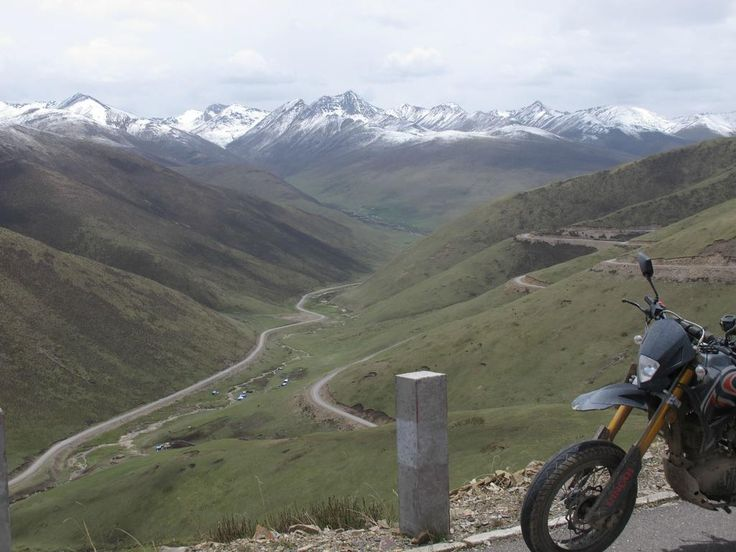 The Tibetan Plateau by Motorcycle