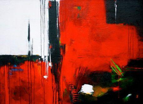 'Red Power' von Claudia Neubauer bei artflakes.com als Poster oder Kunstdruck $6.48