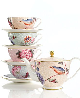 Wedgwood Dinnerware, Cuckoo Collection - Fine China - Dining  Entertaining - Macy's