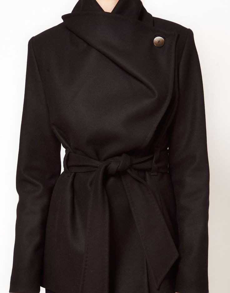 12 best Coats images on Pinterest | Trench coats, Black wool and ...