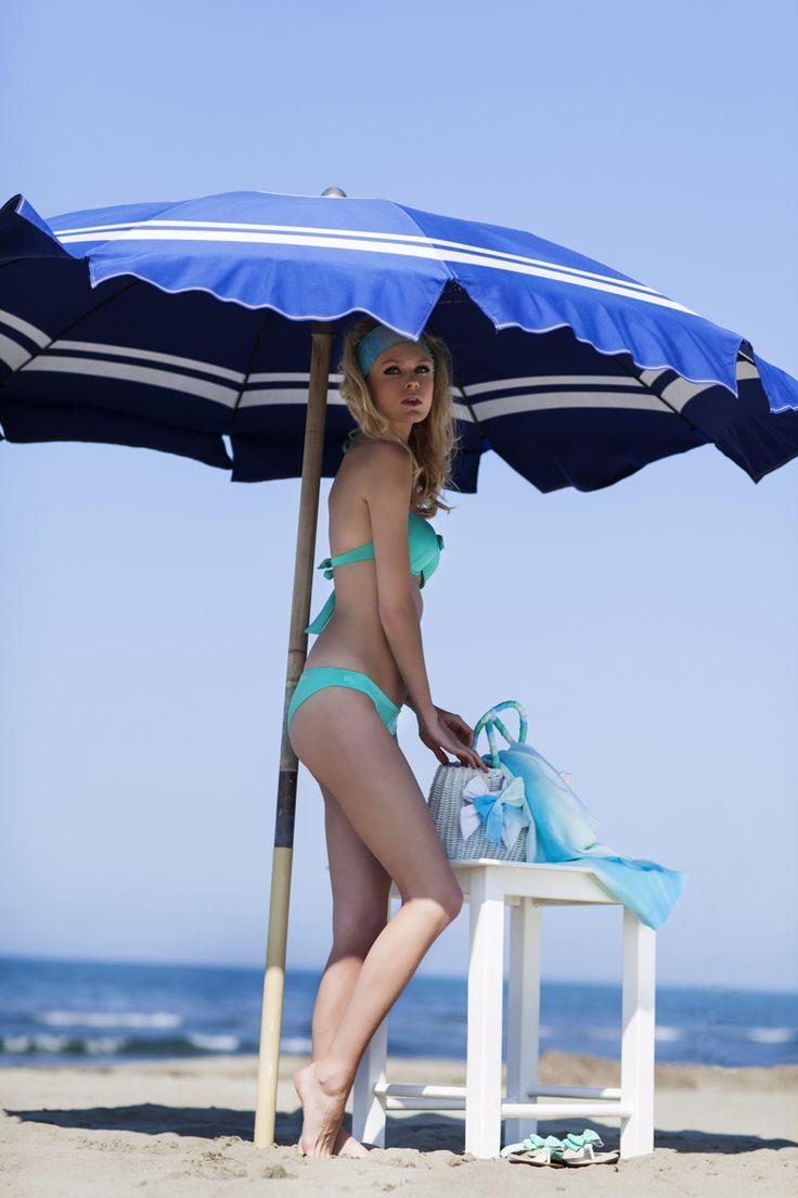 Pepita Beachwear Spring Summer 2014. Nisida push up, Nisida brasiliana - Capri infradito, Capri borsa