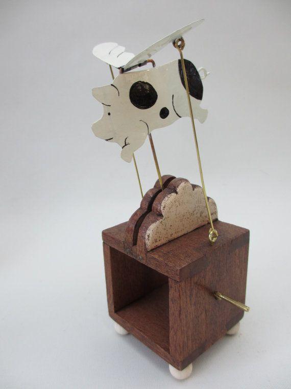 Autómata de cerdo volador por TimDonald