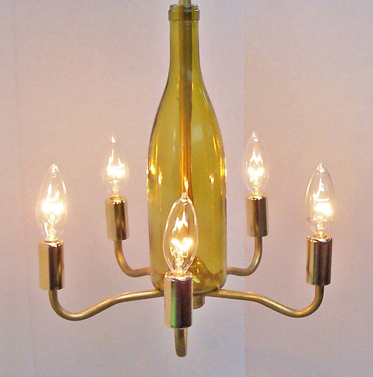 44 best images about rainvilledesigns wine bottle chandeliers on pinterest shops cobalt blue - Wine bottles chandelier ...
