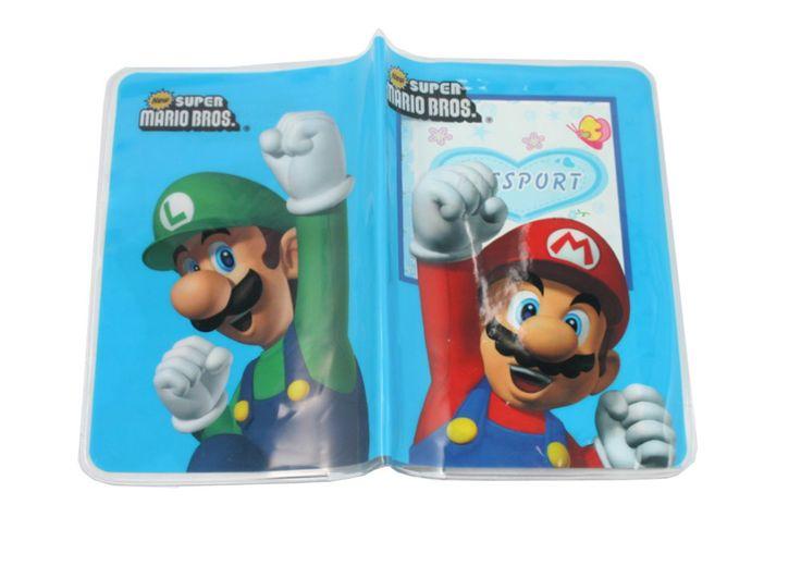 Cheap Super Mario Bros dibujos animados pasaporte titular de la tarjeta / bolsa / estuche de viaje portada ( 5.32 x 3.74 pulgadas ), Compro Calidad Plastic Crafts directamente de los surtidores de China:                                                     Bienvenido a mi tienda