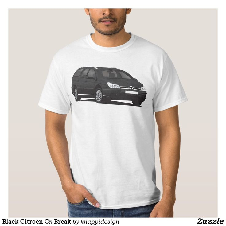 Black Citroen C5 Break tee.  #citroen #citroën #citroenc5 #citroënc5 #citroenc5break #frenchcars #automobile #automobileillustration #car #cartshirts #french #auto #bilar #tees