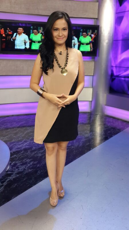 (X)S.M.L Two Tones Dress is appeared on Trans TV - September 2013