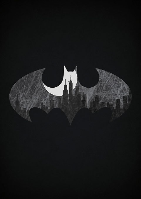Una de Batman minimalista