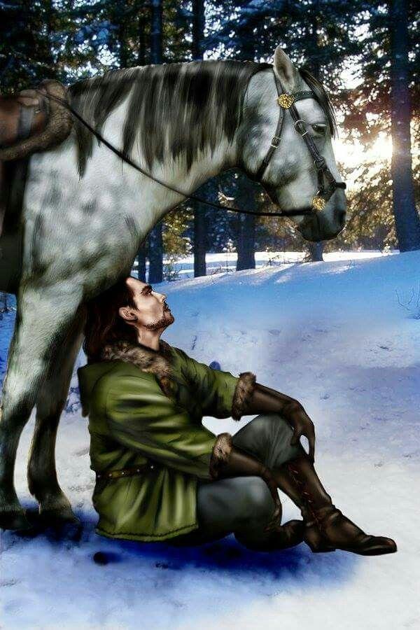 Lord Eddard Stark by Marygosty.