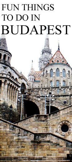 Fun things to do in Budapest Hungary