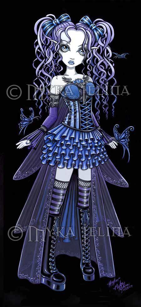 La Bolsa De Asas - Azul Fantasía De Hadas De Vida Vida QkVE4hxa4l