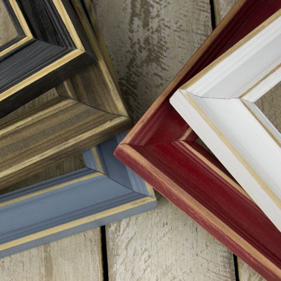 Distressed Frame Classic Picture Frame Rustic Picture Frame