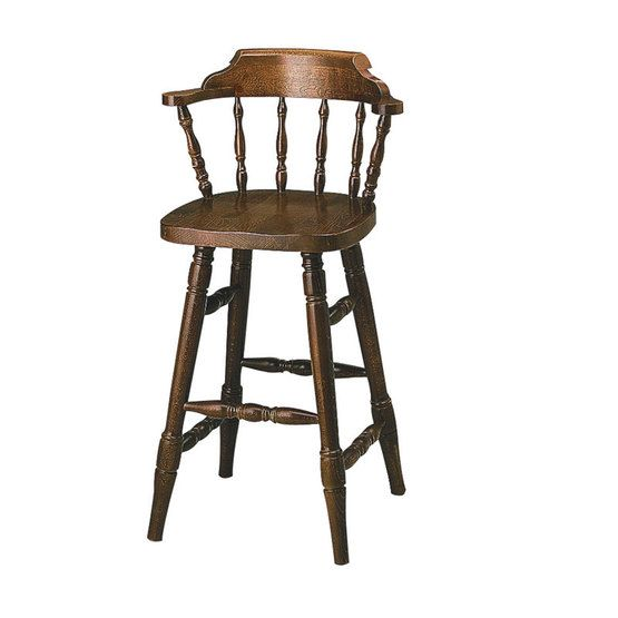 Smokers bar stool (Unupholstered) | Andy Thornton