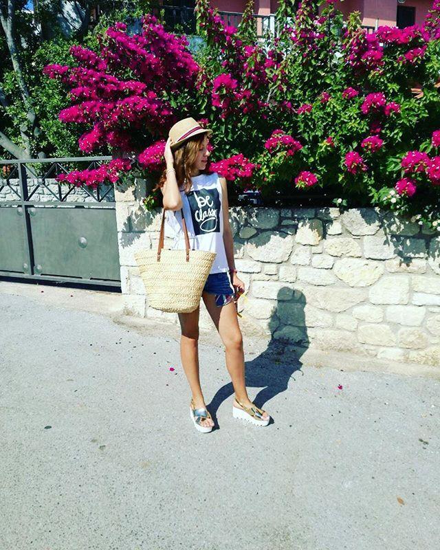 Weekend=☀🌹👙👒🐳🍸🍻🍦🍷🌊 #holidays #summertime #Greece #sea